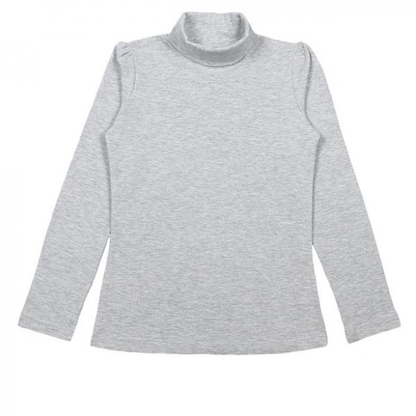 Водолазка для девочки, серый, CAJ 61147