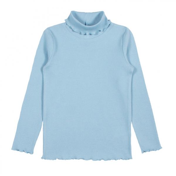 Водолазка для девочки, голубой, CAJ 61628