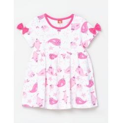 Платье для девочки, Экрю, CSNG 62753-21-280
