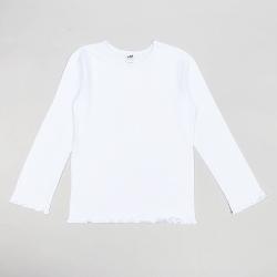 Джемпер для девочки, белый, 10911