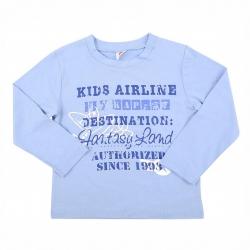 Джемпер для мальчика, голубое небо, К 300351