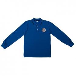 Футболка-поло для мальчика, цвет синий 2024 3032057