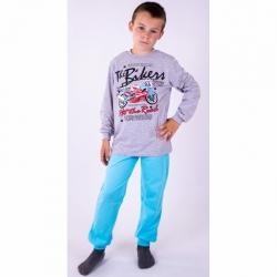 Пижама для мальчика, (меланж/бирюзовый, BP 14-052/04п