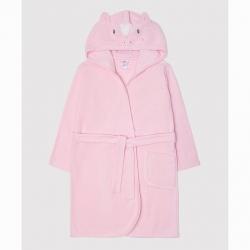 Халат для девочки, холодно-розовый(единорог), К 5481