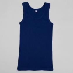 Майка для мальчика, цвет тёмно-синий, 2233 3541692