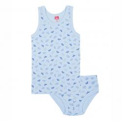 Комплект для мальчика, голубой, CAK 3332