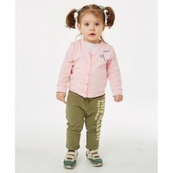Джемпер для девочки, Светло-розовый, 405-006-191