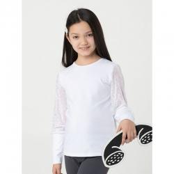 Джемпер для девочки, Белый, CWJG 62774-20