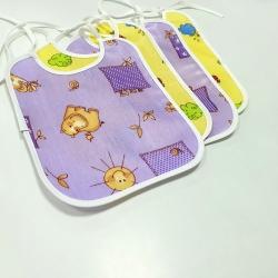 Нагрудный фартук для малышей на завязочках, арт.577