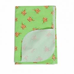Пелёнка фланелевая для новорожденного 130*90 см, арт.3153