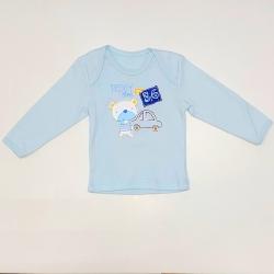 Фуфайка ясельная, голубой, 1362 ин