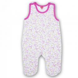 Полукомбинезон ясельный, розовый звездочки, CAN 9620