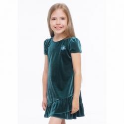 Платье для девочки, т.зелёный, 783821/26бх