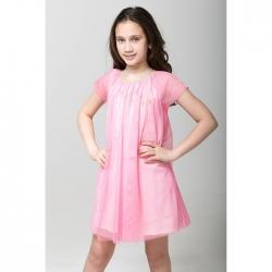 Платье для девочки, розовый, CAJ 61688