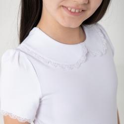 Джемпер для девочки, Белый, CWJG 62782-20