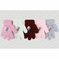 Перчатки детские, шерсть, *TG-138