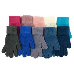Перчатки, одинарная вязка, TG-129