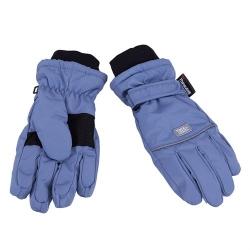 Перчатки детские, серо-голубой, модель 3-004717 Tu-tu