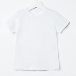 Футболка детская, цвет белый, 402 3474373