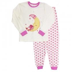 Пижама для девочки, цвет бежевый, 10603 2818614