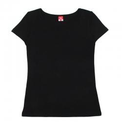 Футболка для девочки, черный, CAK 61145