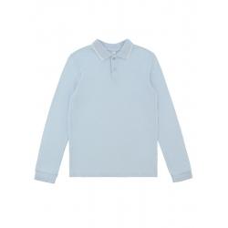 Сорочка-поло верхняя детская для мальчиков Faux-Inf base, голубой, 912102034