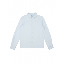 Сорочка верхняя детская для мальчиков Gingham-Inf base, голубой, 912137021