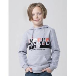 Джемпер для мальчика, Св.серый меланж, CSJB 62652-11-263