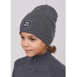 Шапка детская, 801610р серый