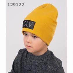 Шапка детская, 811812р горчичный