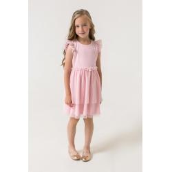 Платье для девочки, персиково-розовый к285, КР 5680