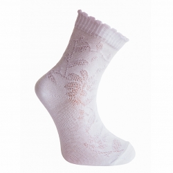 Носки для девочки, белые, 111