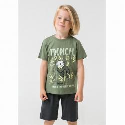 Комплект для мальчика, тем.оливковый+черное дерево к1265, К2756
