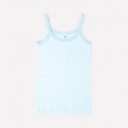 Майка для девочки, звездный вальс на голубой воде, К1082