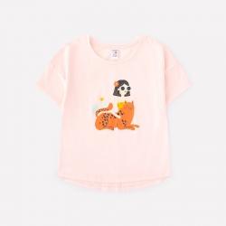 Фуфайка для девочки, бледно-персиковый к1262, К301327