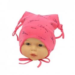 Шапка детская, розовая, Арт. 7064
