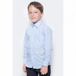 Сорочка детская, длинный рукав, голубая, TC27dZ M(6115)