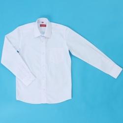 Сорочка детская, длинный рукав, белая, TC2dZ M(6116)