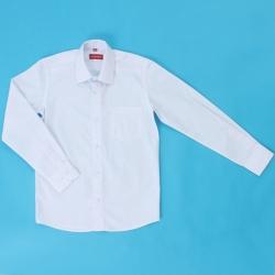 Сорочка детская, длинный рукав, белая, TC2dZ* M(6117)