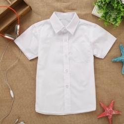 Сорочка детская короткий рукав, белый, 6120 ТС2ds M