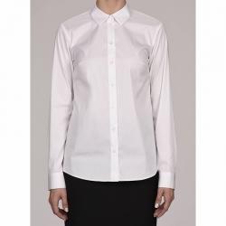 Блузка для девочек длинный рукав, белый, 6121 B14-901d