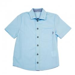 Сорочка для мальчика, голубой, ОД 0012.6