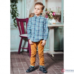 Сорочка для мальчика, голубой, ОД 0021.1