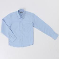 Сорочка для мальчика, светло- голубой, CVC27