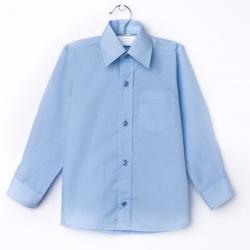 Сорочка для мальчика, светло-голубой