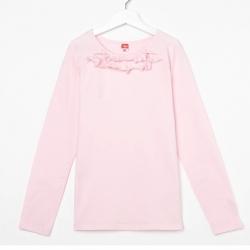 Блузка для девочки, цвет розовый, CAJ 61635