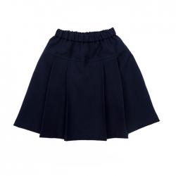 Юбка для девочки,  цвет синий, ШФ 0002