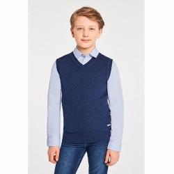 Жилет детский для мальчиков, Kiosty синий, 413115001
