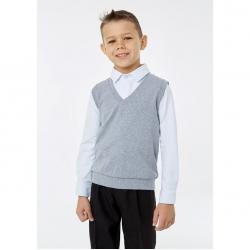 Жилет для мальчика, цвет меланж, 1S5-002-11811