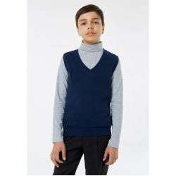 Жилет для мальчика, цвет синий, 1S5-002-11811